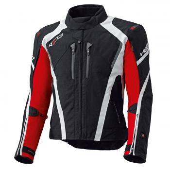IMOLA II Sportliche Gore-Tex Tourenjacke schwarz-rot