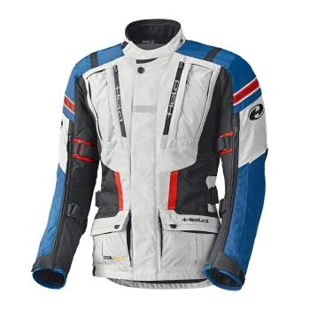 Held HAKUNA II Motorrad Adventure Textiljacke grau blau
